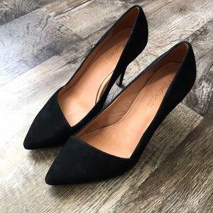 Madewell Mira black heels!